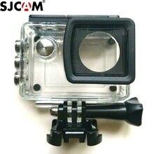 Original sjcam sj5000 impermeável caso subaquática habitação mergulho 30m para sj5000 wifi mais sj5000x câmera acessórios clownfsih