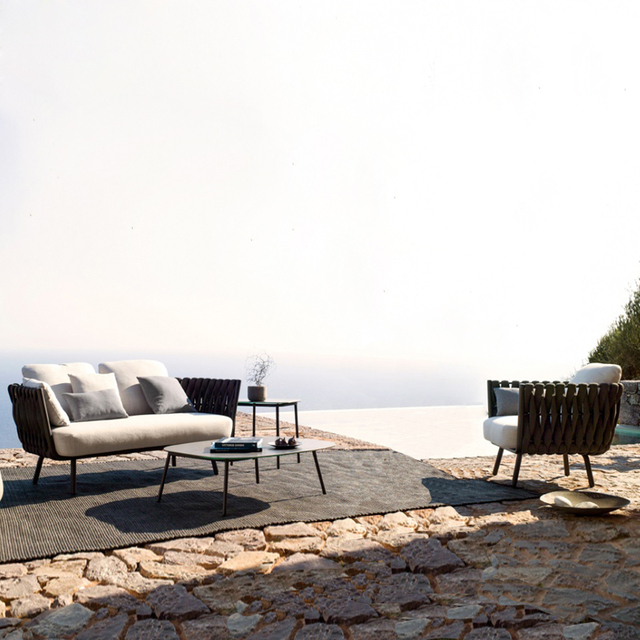 Luxury Rope Garden Sofa Set  3