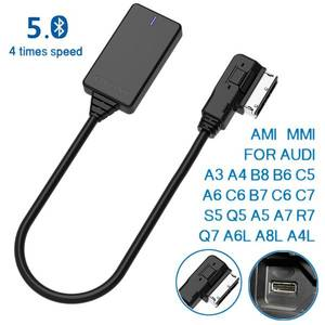 AMI MMI MDI Wireless Aux Bluetooth Adapter Cable Audio Music Auto Bluetooth for Audi A3 A4 B8 B6 Q5 A5 A7 R7 S5 Q7 A6L A8L A4L(China)