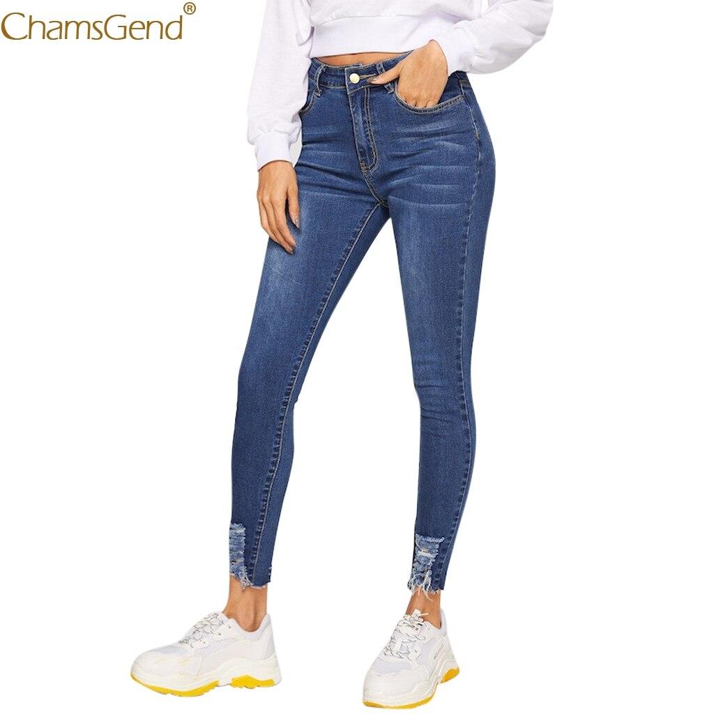 Skinny Jeans Pants Women Zipper Pocket Trousers Jeans Casual Denim Pantshigh Waist Jeans Pants Women Jeans Pants Women Blue Sept