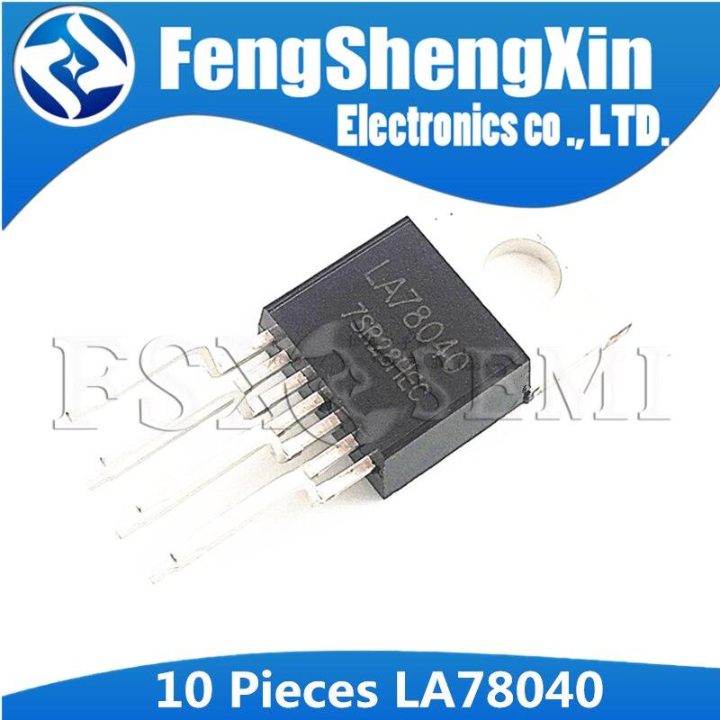 10pcs LA78040B LA78040 TO-220 IC