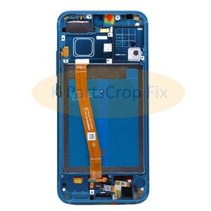 Image 4 - 名誉 10 フレームと huawei 社の名誉と 10 lcd スクリーンディスプレイタッチパネル指紋アセンブリ交換部品