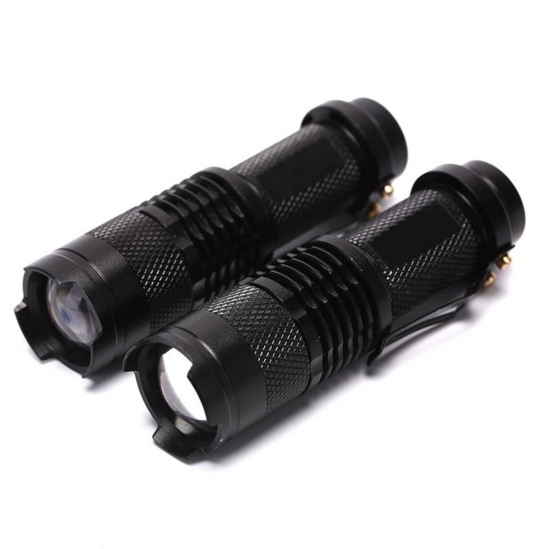 395/365 NM UV Ultra LED Flashlight Blacklight Light Inspection Lamp Torch Flashlight Lamp AA Battery