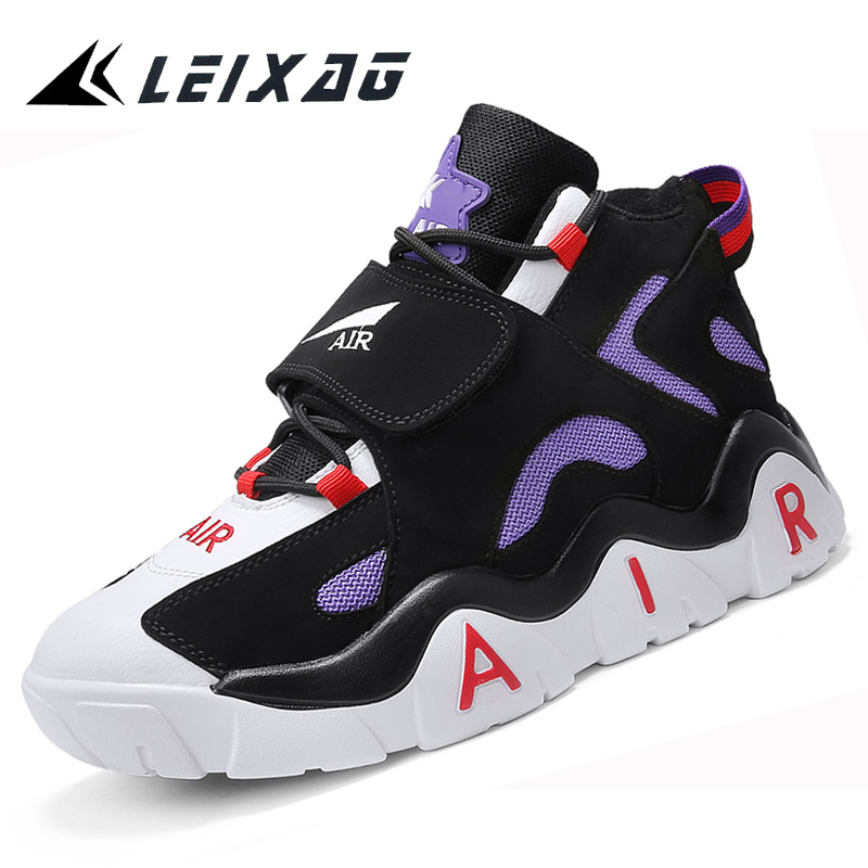 LEIXAG Basketball Shoes For Men Outdoor Basketball Sport Shoes Jordan Shoes Basketball Training Shoes Air Damping Men Sneakers