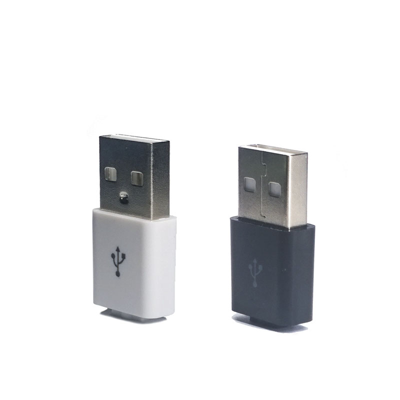 10 Pcs/lot Male Type A 4Pin Square USB Connectors Plastic Shell USB Connector Flat Port Jack Tail Plug Sockect