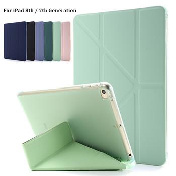 Lekki inteligentny pokrowiec na iPad 8 8 Generacji pokrowiec na stojak odporny na wstrząsy pokrowiec na iPad 7 Generacji 10 2 etui z uchwytem na ołówek tanie i dobre opinie VIGENCIA Powłoka ochronna skóry 10 2 CN (pochodzenie) For iPad 10 2 2019 Drukuj 10 2inch Dla apple ipad moda odporne na wstrząsy