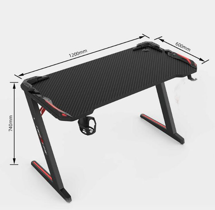 Купить с кэшбэком Computer table PC desk home simple cool game table internet cafe table competitive gaming table