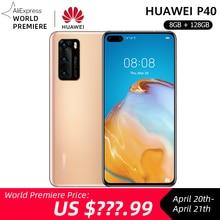 World Premeiere Global Version Huawei P40 5G Smartphone Kirin 990 8GB 128GB 50MP Ultra Version Camera 6.1 inch SuperCharge NFC
