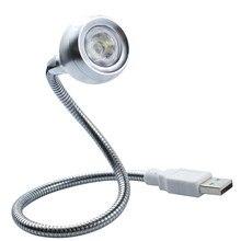 3 Вт светодиодный книжный светильник USB управляемый гибкий шеи портативный светильник белый или теплый белый светильник ing Металл для ПК компьютер, ноутбук