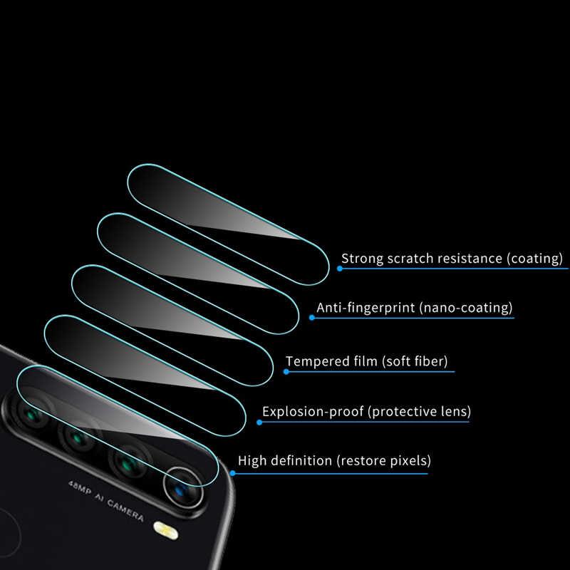 2 ב 1 מזג זכוכית עבור Xiaomi Redmi הערה 8 פרו מלא כיסוי עבור Redmi note8pro מסך מגן חזרה Camare עדשת סרט note8 פרו