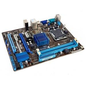 Image 2 - Asus P5G41T M LX3 PLUS Desktop Motherboard G41 Socket LGA 775 For Core 2 Duo DDR3 8G SATA2 USB2.0 VGA uATX Used Mainboard