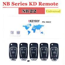 Livraison gratuite (5 pièces/lot) NB22 universel multi fonctionnel kd900 télécommande 4 boutons NB série clé pour KD900 URG200 télécommande maître