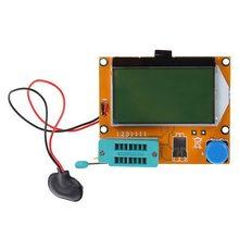 Probador de Transistor MG328, condensador ESR, medidor de resistencia de inductancia, NPN, PNP, Mosfet
