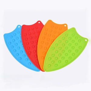 2020 New Creative Silicone Iron Hot Protection Rest Pad Mat Rest Ironing Pad Insulation Boards Safe Surface Iron Stand Mat Hot
