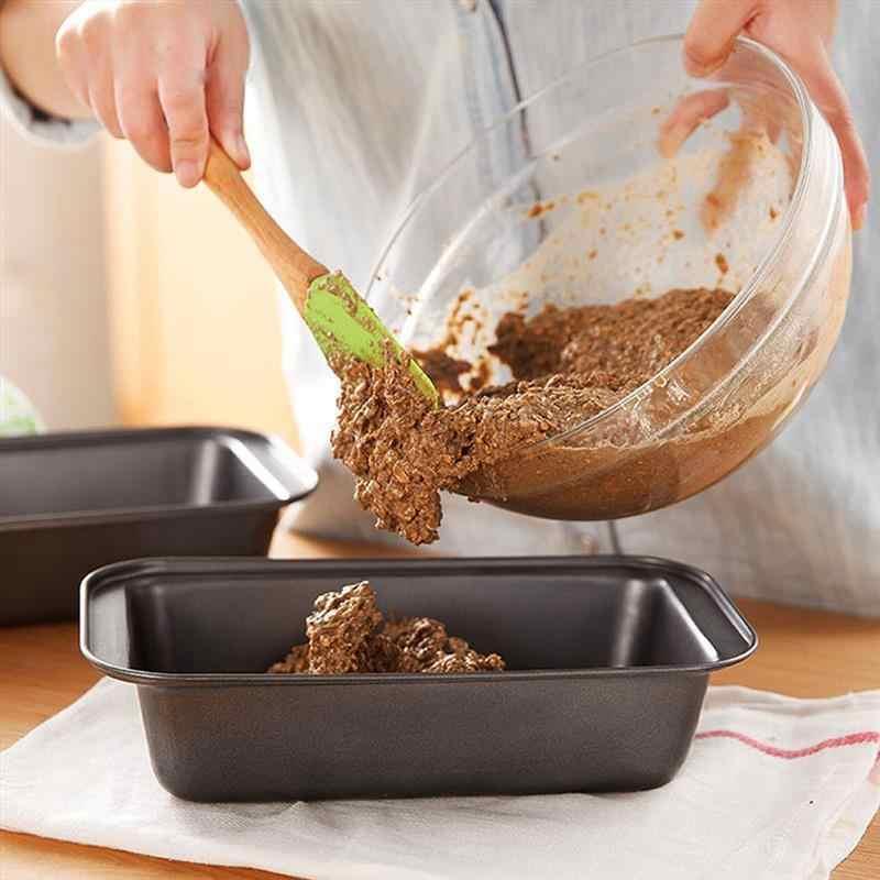 1 قطعة رغيف عموم مستطيل خبز التوست قالب الكعكة قالب الكربون الصلب رغيف المعجنات الخبز خبز لتقوم بها بنفسك غير عصا عموم لوازم الخبز ZXH