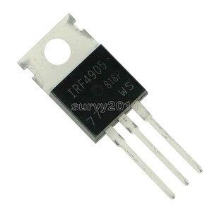 Image 3 - 10 stücke IRF4905PBF TO220 IRF4905 ZU 220 IRF4905P Power MOSFET neue und original