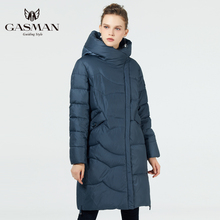 GASMAN 2019 Down Coat fashion winter jacket women Long plus size coat warm parka hooded High quality