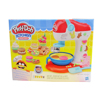 Hasbro Play Doh Clay Dough Kitchen Series Slime Color Mud Beautiful Pattern Cake Kit Kids Plasticine Toys Polymer Clay Charms