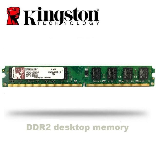 קינגסטון מחשב 1GB 2GB PC2 DDR2 667Mhz 800 Mhz 5300s 6400s שולחן העבודה זיכרון RAM 1g 2g 4g DIMM 667 800 Mhz