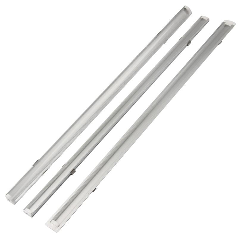 Image 5 - 1set 50cm LED Bar Lights Aluminium Profile Transparent Cover U/V/YW Style Shaped for LED Strip Light Parts-in LED Bar Lights from Lights & Lighting