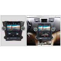 CHOGATH 12,1 ''android 7,1 Vertikale Bildschirm 2 + 32G Auto Radio GPS Multimedia Stereo für Toyota Highlander 2009- 2012 mit karten