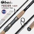 DMX Rapid feeder fishing rod spinning casting Travel Rod 3.6m vara de pesca fuji Carp Feeder 40-200g pole