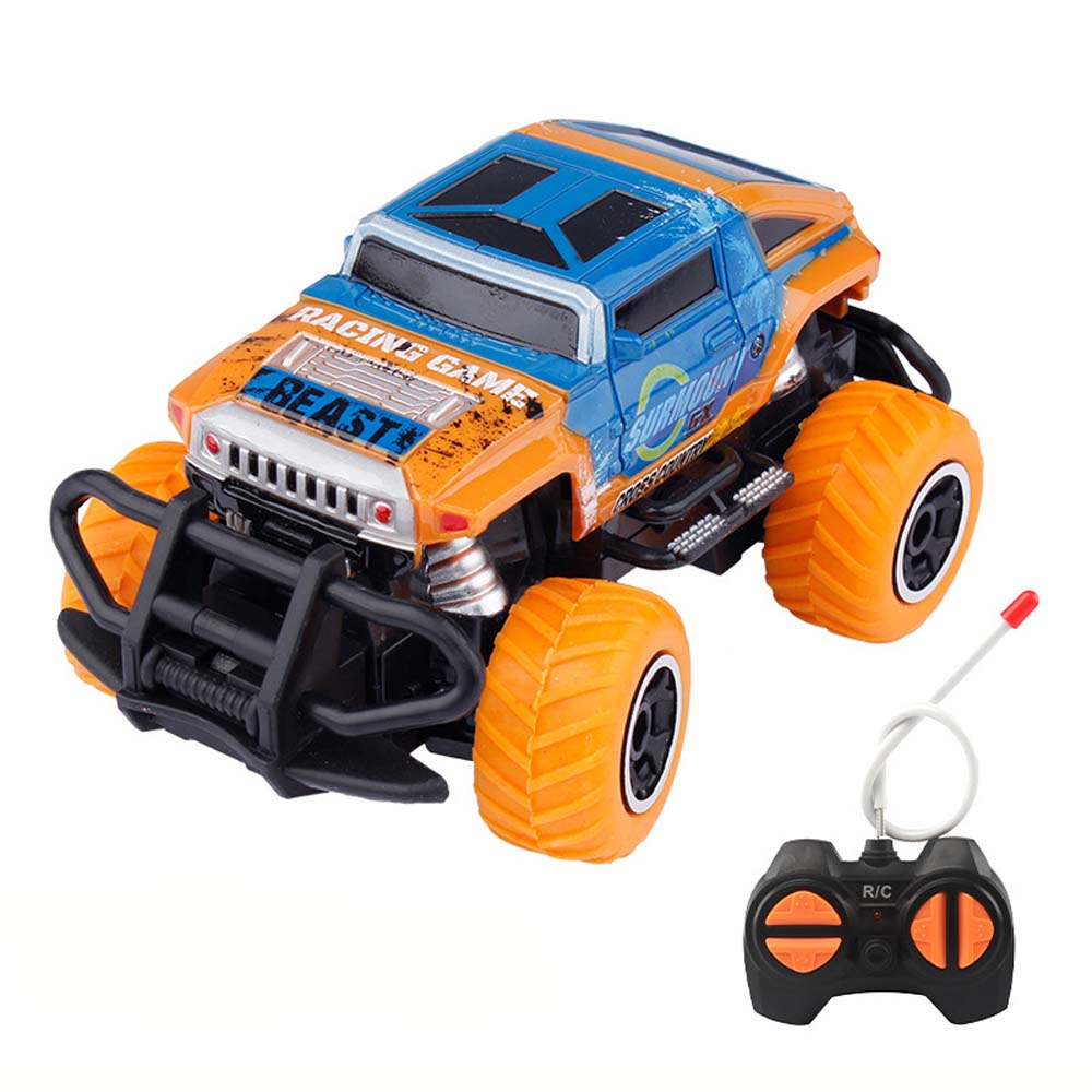 4 Channels RC Cars Remote Controlled Truck Car Radio Control Toys Cars For Children Outdoor Racing Buggy Toys Birthday Xmas Gift