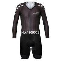 LE COL pro team lycra skinsuit body custom riding clothing ropa ciclismo bicicleta speedsuit wear triathlon suit cycling clothes