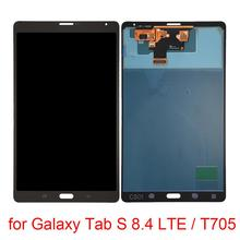 For Galaxy Tab A 9.7 / P550 LCD Screen and Digitizer Full Assembly tablet lcd assembly for samsung galaxy tab a 9 7 sm p550 p550 lcd display touch screen digitizer replacement repair panel