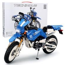 SLPF Toys For Children Cross Country Motorcycle Model Kit Compatible Legoing Educational Assembled Building Blocks Kids Gift I75 цены