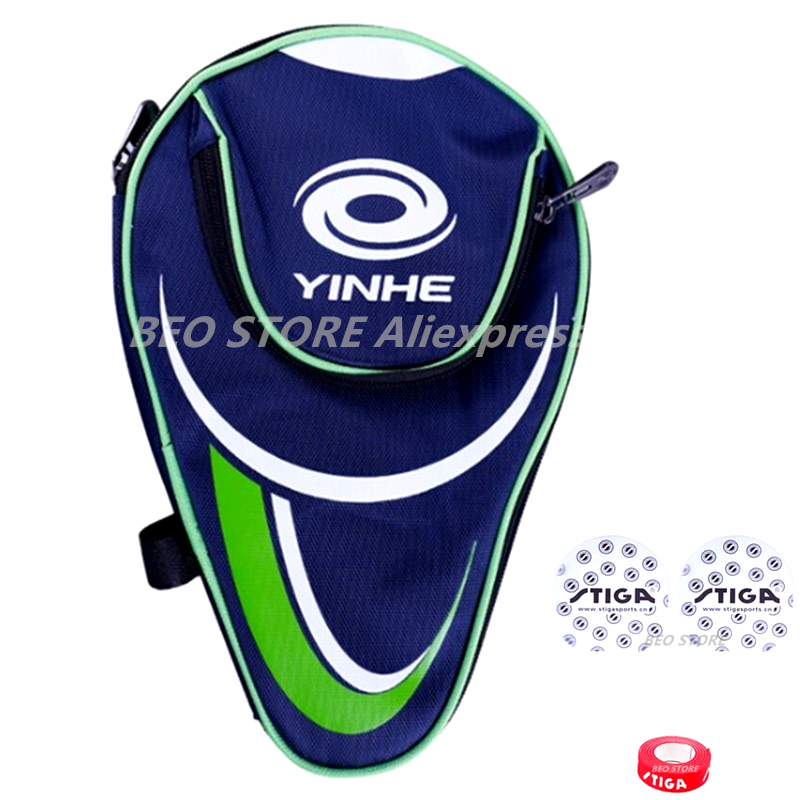 YINHE Galaxy Table Tennis Bag Protective Films Protector Side Edge Tape Cleaning Sponge Ping Pong Case Set Accessories