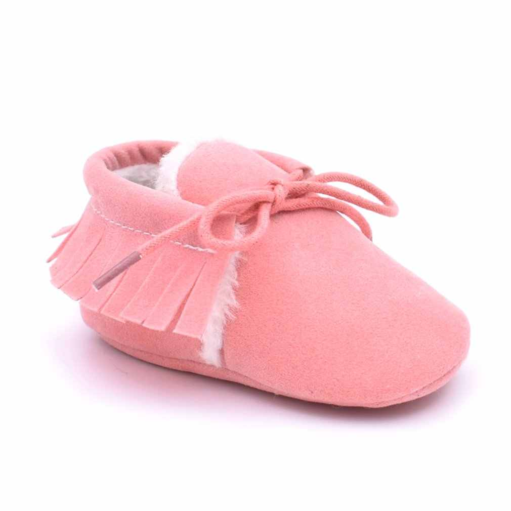 M613 Mode Bijpassende Kleur Leuk Ontwerp Baby Prewalker Zachte Antislip Kinderen Schoenen Casual Wandelschoenen Omzoomd Laarzen Voor Dagelijks Jurk