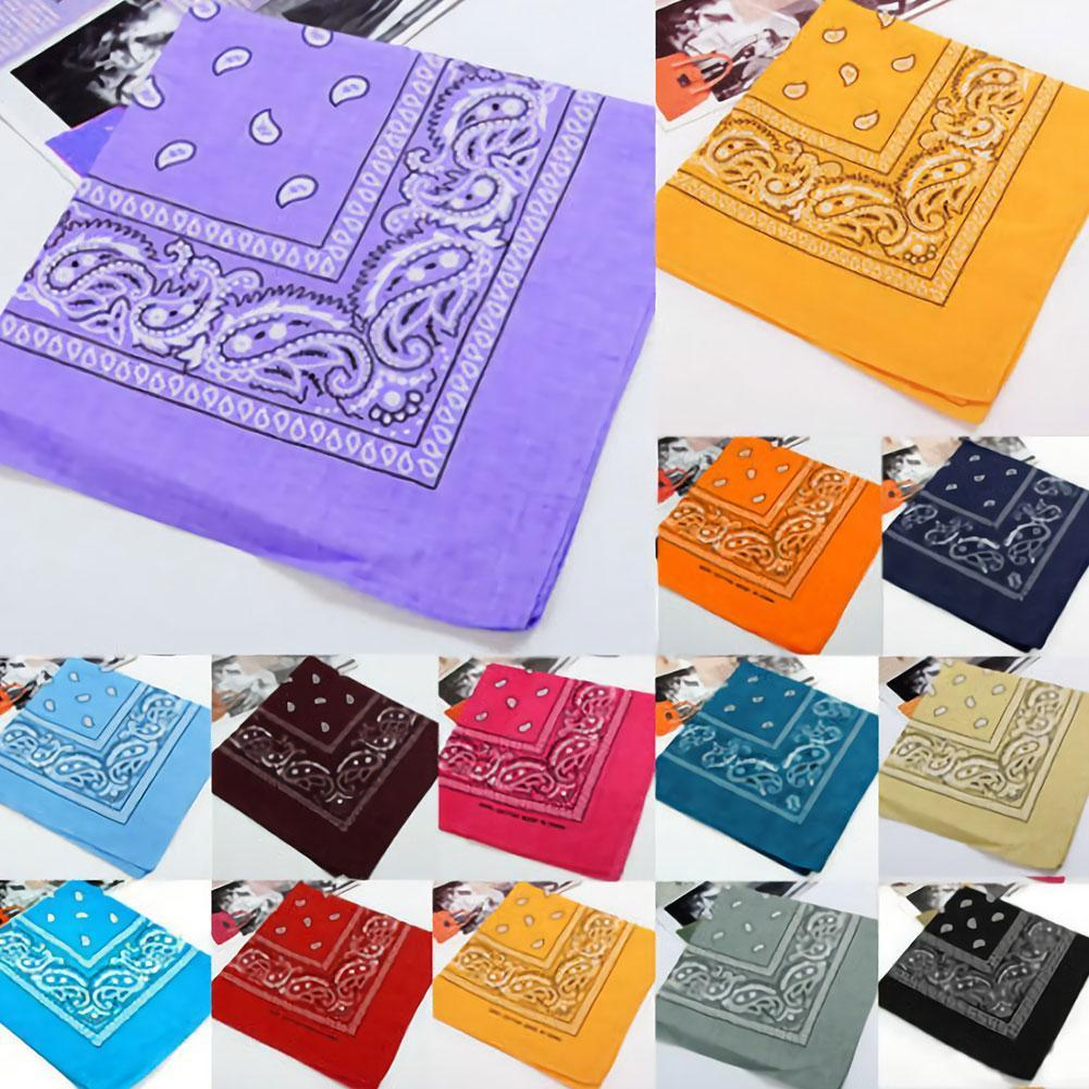 Polyester Square Scarf Outdoor Sports Bandana Elastic Scarf Soft Shawl Girl Accessories For Unisex Bands Headwrap Hair Hair A2C2