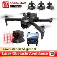 Drone SG906 MAX PRO/PRO2 Beast 3 GPS 3-Achsen Gimbal 4K FPV 5G WIFI Dual kamera Professionelle 50X Zoom Bürstenlosen Quadcopter VS F11