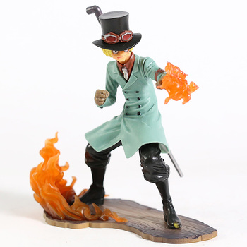 One Piece Stampede Brotherhood III Sabo & Ace PVC Figure Collectible Model Toy 2pcs/set 2