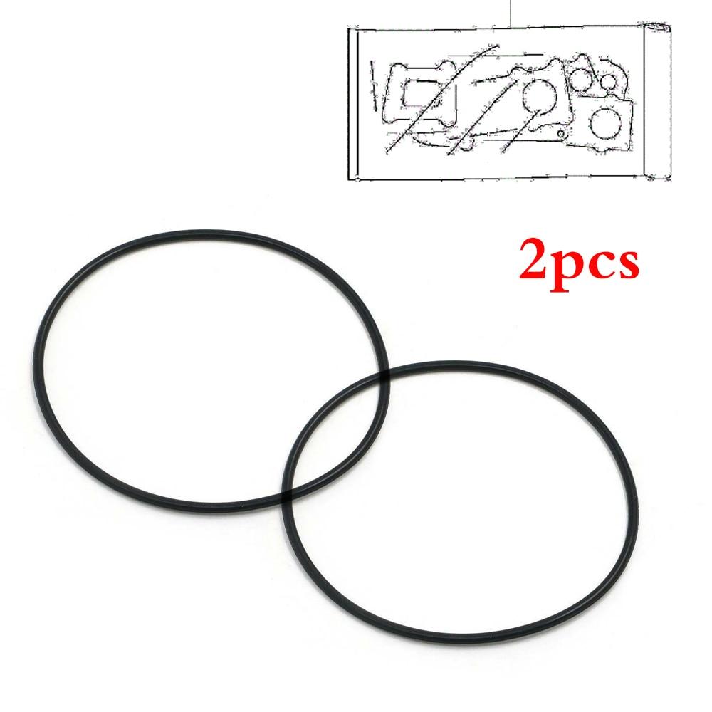 Pack of 2 Oil Filter ring Gasket Seal O-ring 09280-72001 For Suzuki GN250 GZ250 DR250 SP250 DR350 DR650 TU250X LS650 DR500