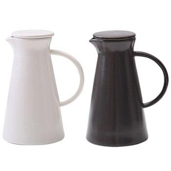 1300 мл керамический кувшин для воды офисный холодный горячий водонос чайник термостойкий диспенсер для напитков посуда для напитков
