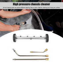 16 inch Pressure Washer Undercarriage Cleaner 4000 PSI with 3 Extension Wands Convenient Replace Car Accessories
