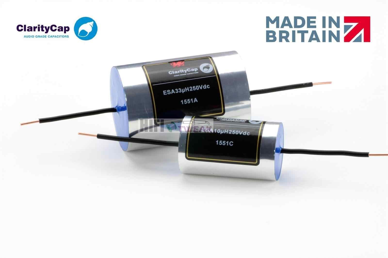 ClarityCap Series ESA 630 VDC 0.47 UF 3/% Audio Filter High End Crossover