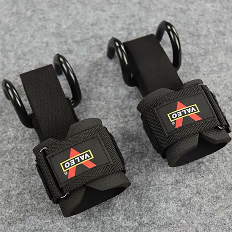 2pcs 2 in 1 Adjustable Wrist Support Fitness Gloves Thicken Sleeve Strap Gym Weight Lifting Dead