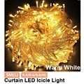 5M 216 LED cortina Icicle String luces Droop 0.4m-0,6 m-0,8 m 220V Navidad decoración casa calle exterior guirnalda luces de hadas