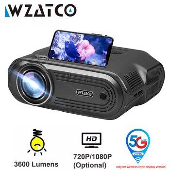 Портативный проектор WZATCO E80 1