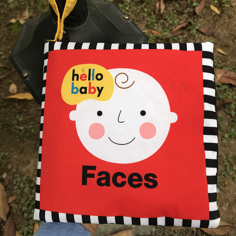 My Expression  Not Torn Can Be Hung Big Cloth Book Early Childhood Education Supplies