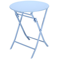ins Balcony Folding Table Small Square  Northern Europe  Family  Simple Round   Iron