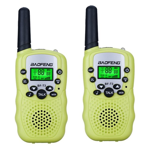 Hot Offer #fc4dc8 - 2pcs Baofeng BF-T3 Pmr446 Walkie Talkie Best Gift For Children Radio Handheld T3 Mini Wireless Two Way Radio Kids Toy Woki Toki | Cicig.co