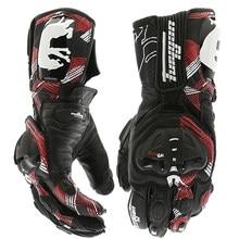 Furygan-guantes de cuero auténtico AFS 19 para motocicleta, guantes de protección deportiva, para carreras y motociclismo