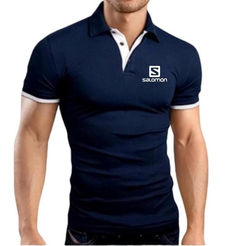 PINSHUN Plus Size M-5XL Brand New Men's   Polo   Shirt High Quality Men Short Sleeve shirt Brands jerseys Summer Mens   polo   Shirts