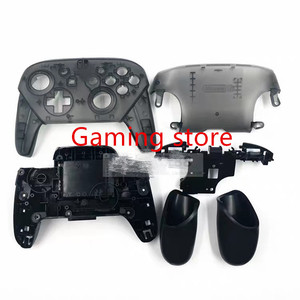 Image 4 - made in chin NS SWITCH PRO game pad controller handle DIY plastic housing shell case replacement with stand