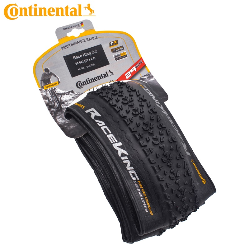 Continental Race King Bicycle Foldable Tire Anti-puncture 180TPI MTB Folding Tyre 26x2.0 27.5x2.0 29x2.2 Cycling Tubeless Tires