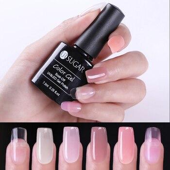 UR SUGAR Color UV Nail Gel Builder Finger Extension Nail Tips UV Gel Polish Long Lasting Nail Art Nail Tools